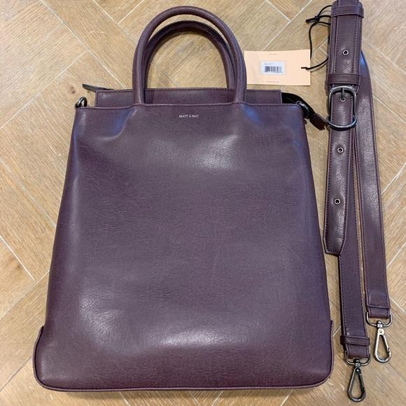 9d2075fd6530 Matt   Nat Rio Crossbody Bag In Fig  New-with-tags